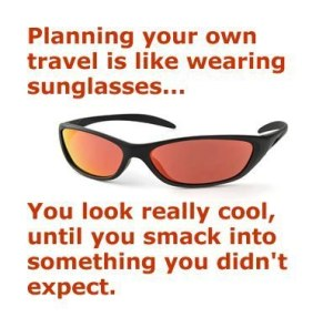 planning your own travel